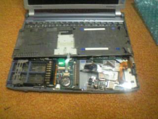 HDD装着部分