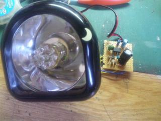 昇圧回路とLED