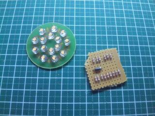 LED基板と抵抗