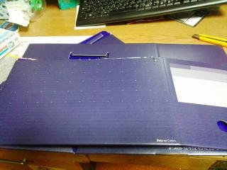 ファイルボックスの加工